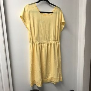 XL YELLOW MAURICES DRESS KNEE LENGTH WORE ONCE